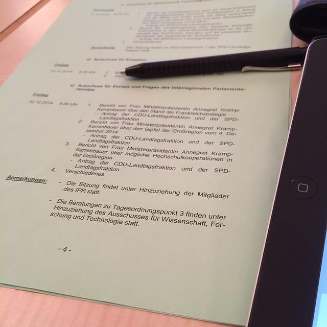 AKK im Europaausschuss