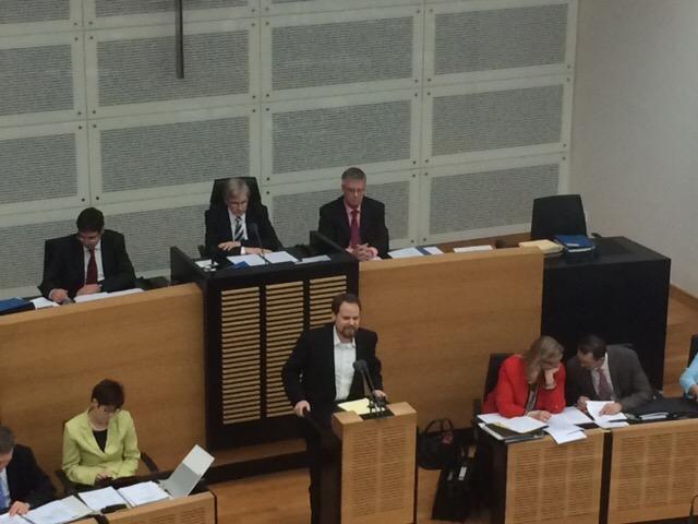 Haushaltsdebatte 2014